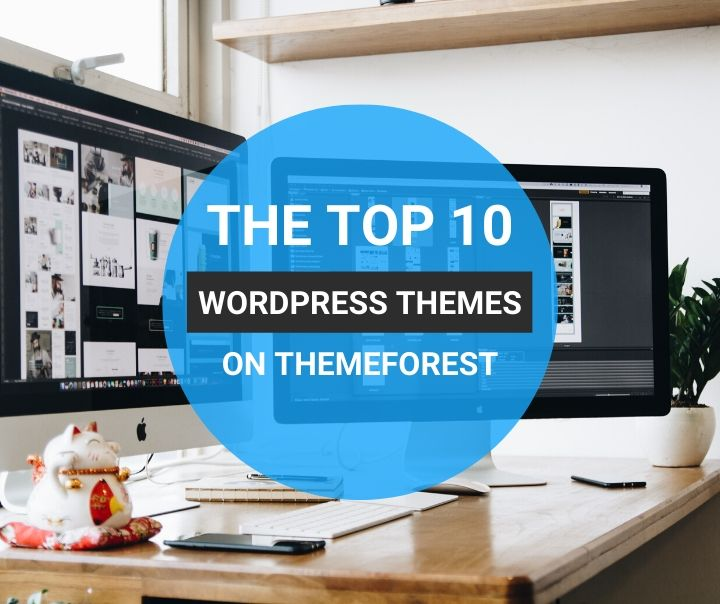 Top 10 Themes on Themeforest