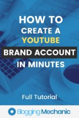 How To Create A Youtube Brand Account