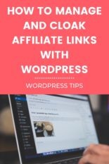 How to manage Affiliate Links with WordPress