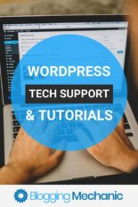 WordPress Technical Support Services and Tutorials