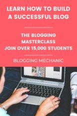 THE Best Blogging Course - A Masterclass On How To Build A Successful Blog