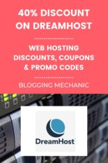 Dreamhost Web Hosting Discount Promo Code Coupon