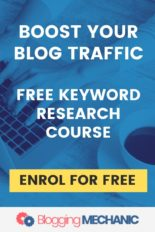 Keyword Research Training Course - Boost Your Website or Blog.  A free course from SEMrush