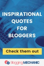 Inspirational Quotes for Bloggers