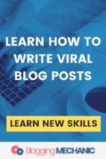 Viral Blog Writing Course 101 - Discover the Secret Sauce to writing Viral Blog Posts
