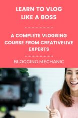 Vlogging Course - Vlog Like A Boss - Learn how to Vlog with Quality Video Content And Strategy
