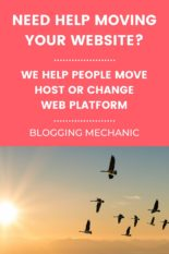 Blog / Website Migration Service - Move your website hosting or change your website platform