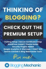 Premium Blog Setup Service - Get your blog set up by a seasoned pro