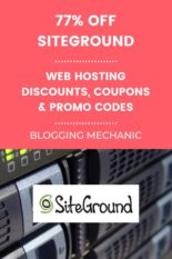 SiteGround Web Hosting Discount