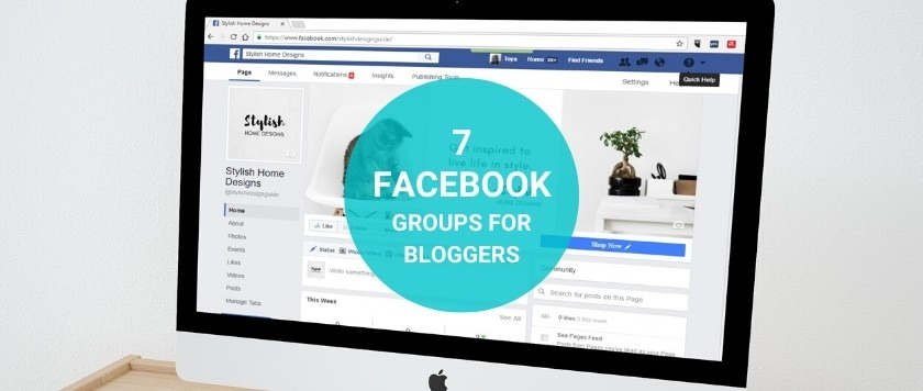 7 Facebook Groups For Bloggers