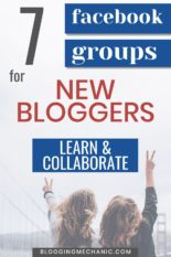 7 Facebook Groups for New Bloggers