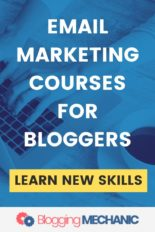 The Best Email Marketing Courses for for Beginners, Intermediates & Advanced Bloggers.