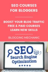 The Best SEO Courses for for Beginners, Intermediates and Advanced Bloggers to learn SEO.