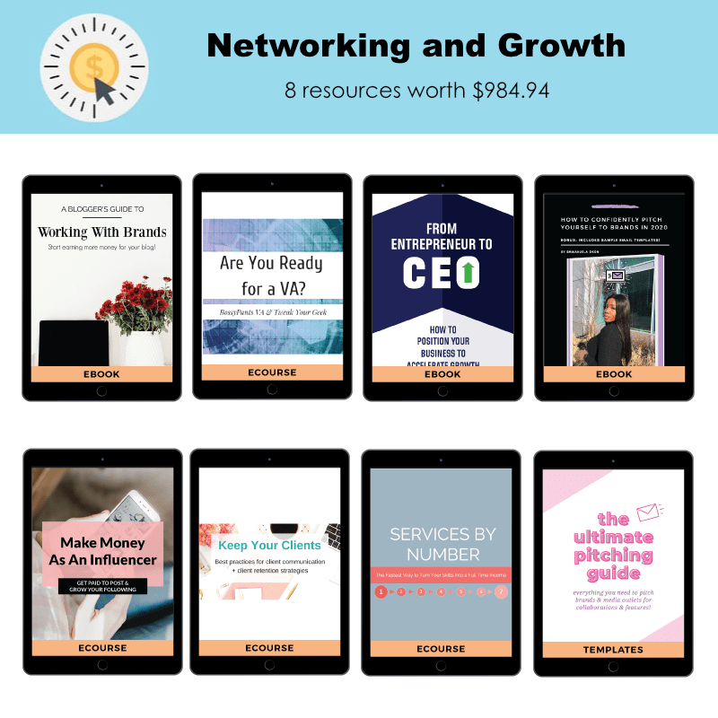 Networking and Growth