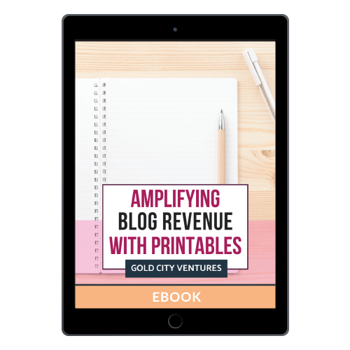 Amplifying Blog Revenue with Printables