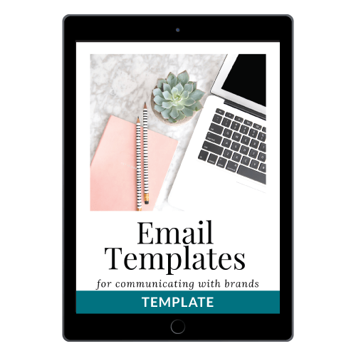 Email Templates For Communicating With Brands