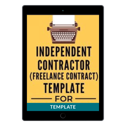 Independent Contractor Agreement (AKA Freelance Contract)