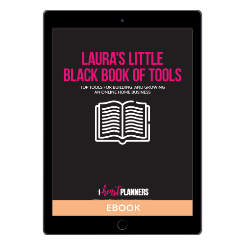 Laura's Little Black Book of Tools
