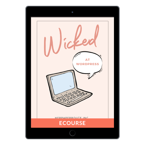 Wicked At WordPress